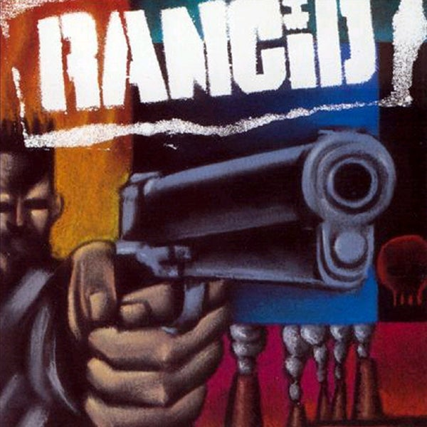 Image of Rancid - s/t 1993 LP (blue vinyl)