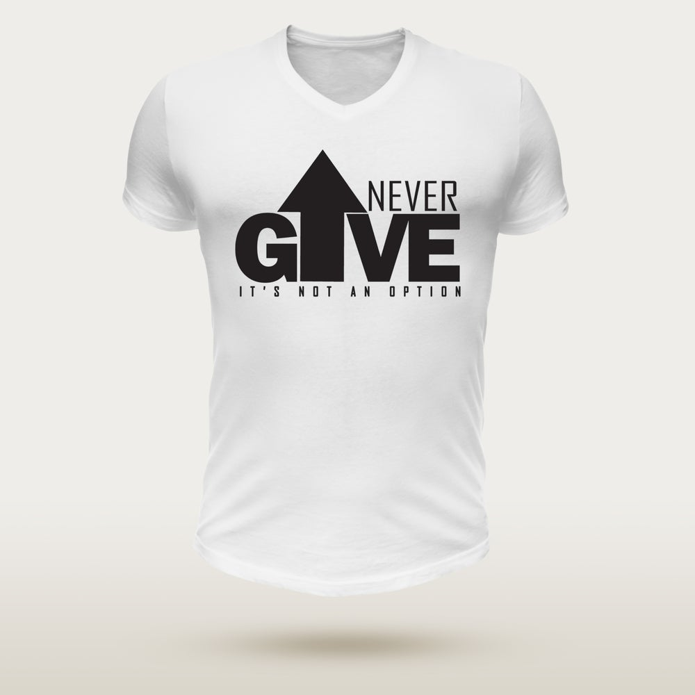 Image of Never Give Up - White & Black Edition
