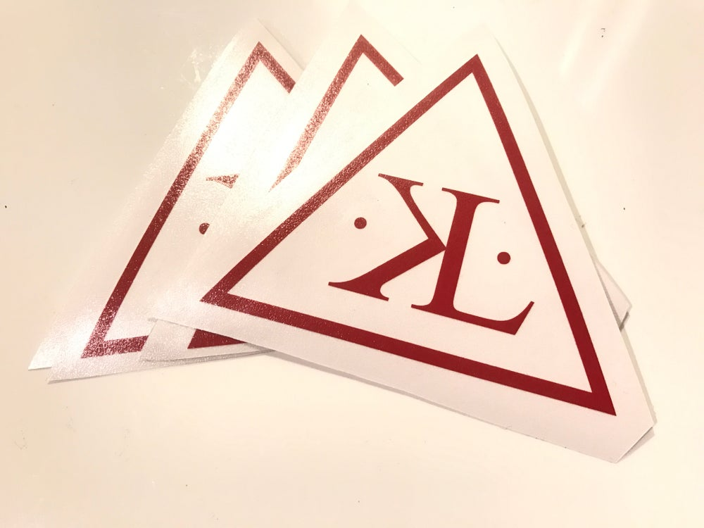 Image of KYU1LLUMINATI Vinyl Sticker
