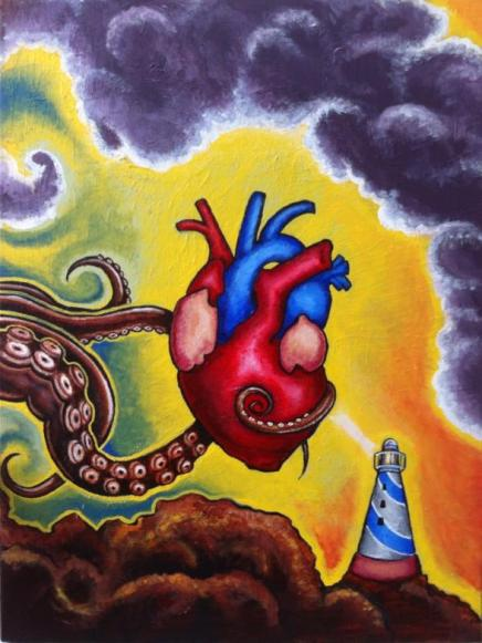 """Image of """"Heart of the Shore"""" (Original Acrylic Painting)"""