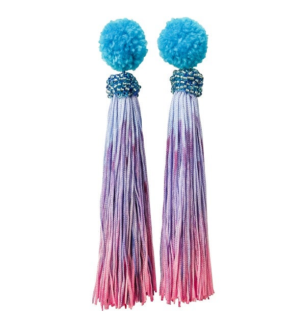 Image of Funfair Tassel Earrings