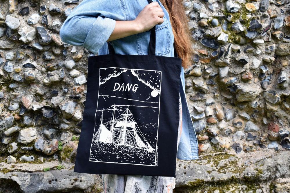 Image of Dang tote bags