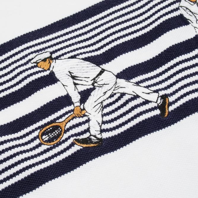 Image of Lacoste Vintage Sweatshirt Crewneck Tennis Players