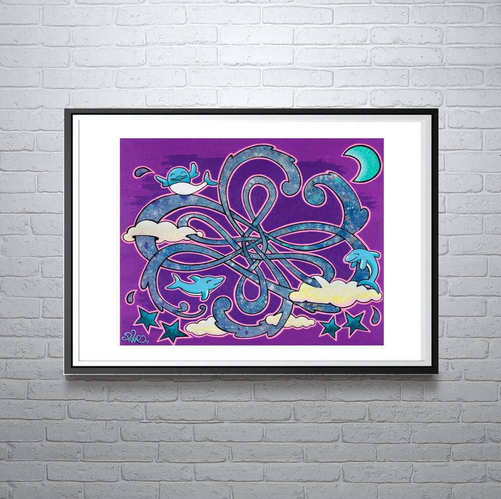 Image of Dancing Dolphins