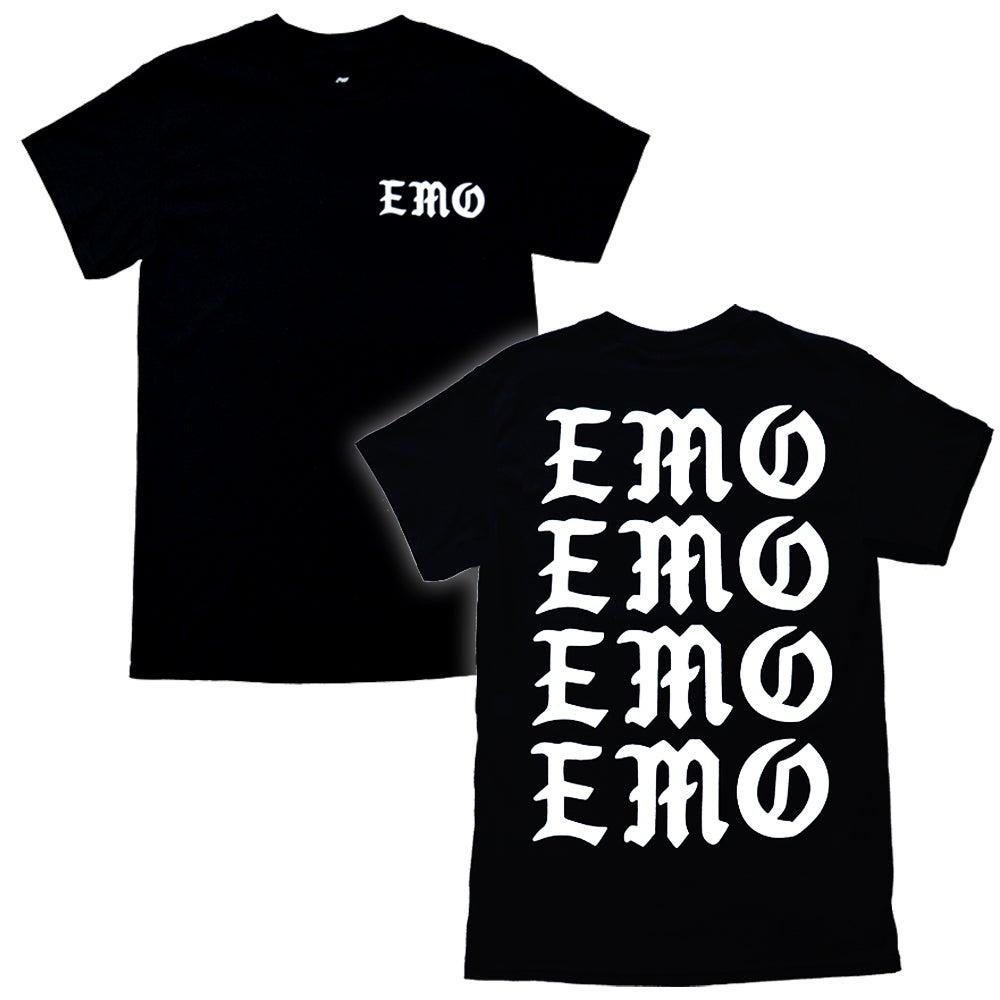 "Image of ""EMO"" T-Shirt - Black"