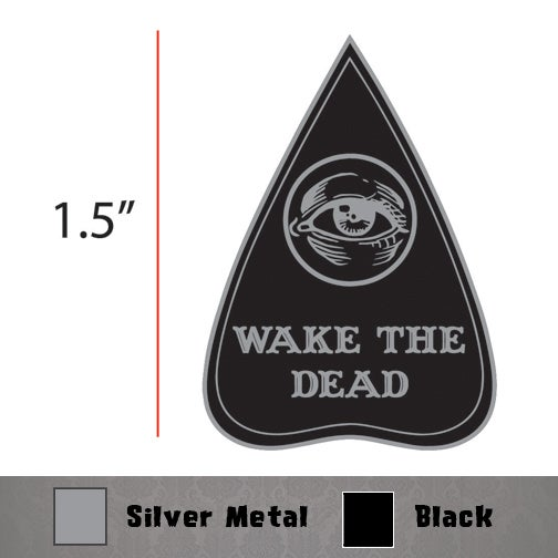 Image of Wake The Dead Spirit Board Enamel Pin
