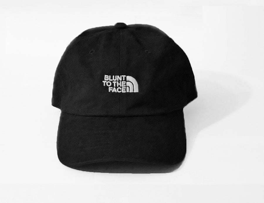 Image of Blunt To The Face Dad Hat (Black)