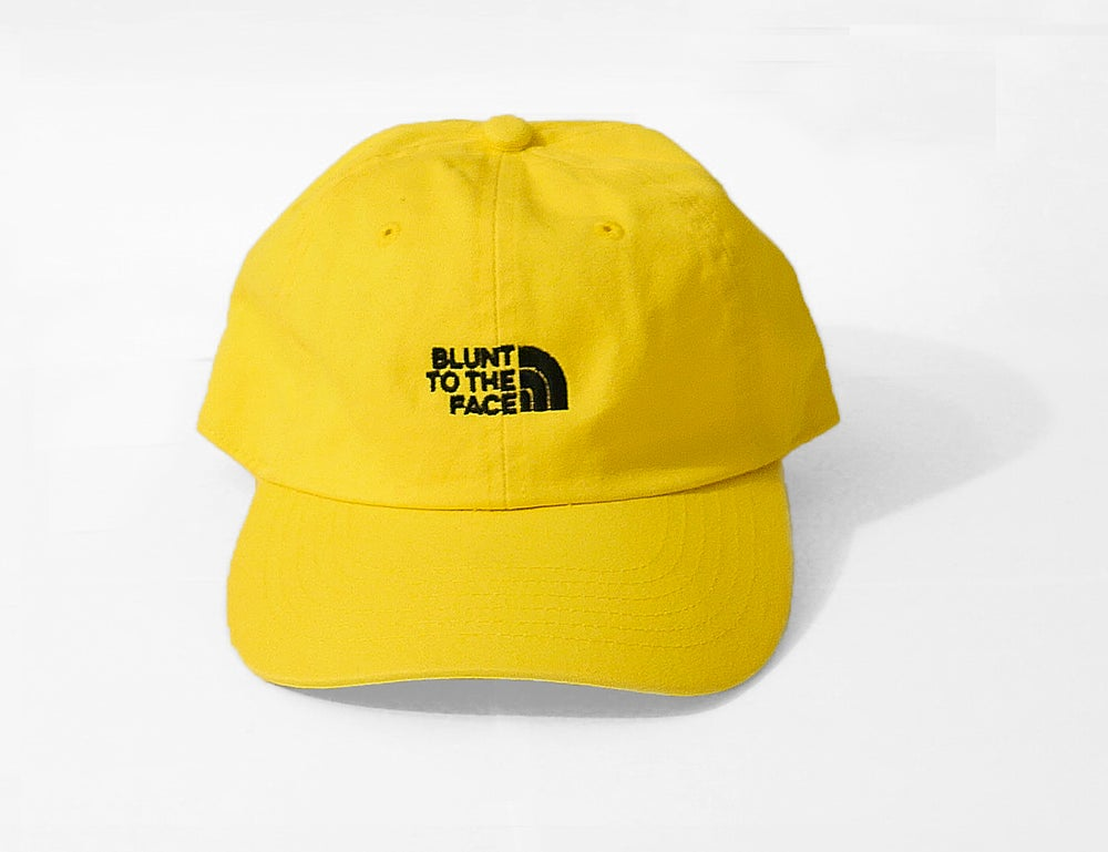 Image of Blunt To The Face Dad Hat (Yellow)