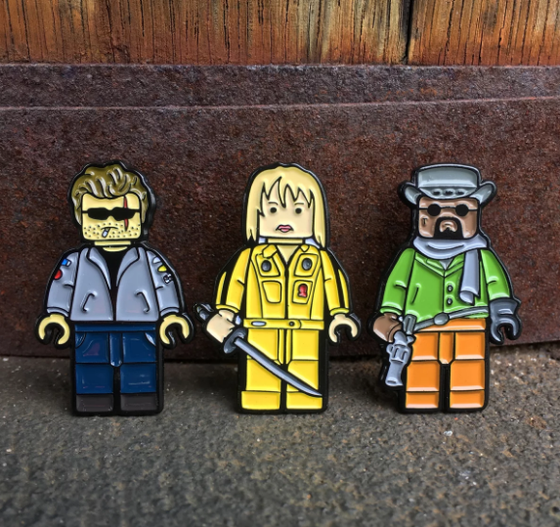 Image of Tarantino lego collection series one