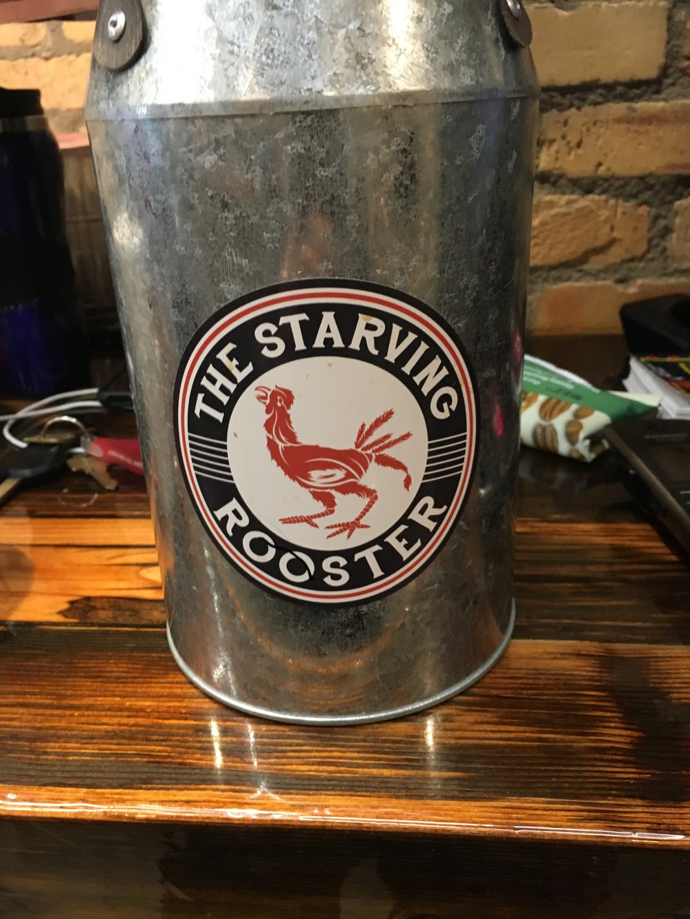 Image of The Starving Rooster Sticker