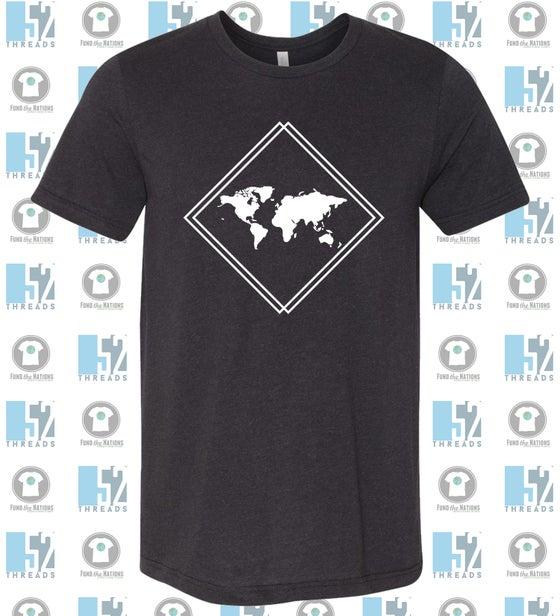 Image of Crew Neck Soft Style T-shirt {black}