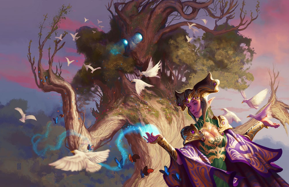 Image of Elven Magic - Print