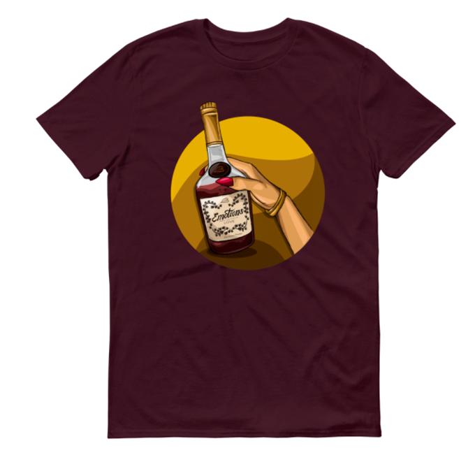 Image of Emotions (Maroon Shirt)