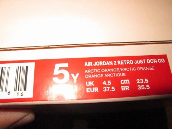 "Air Jordan II (2) Retro ""Just Don: Arctic Orange"" GS - areaGS - KIDS SIZE ONLY"