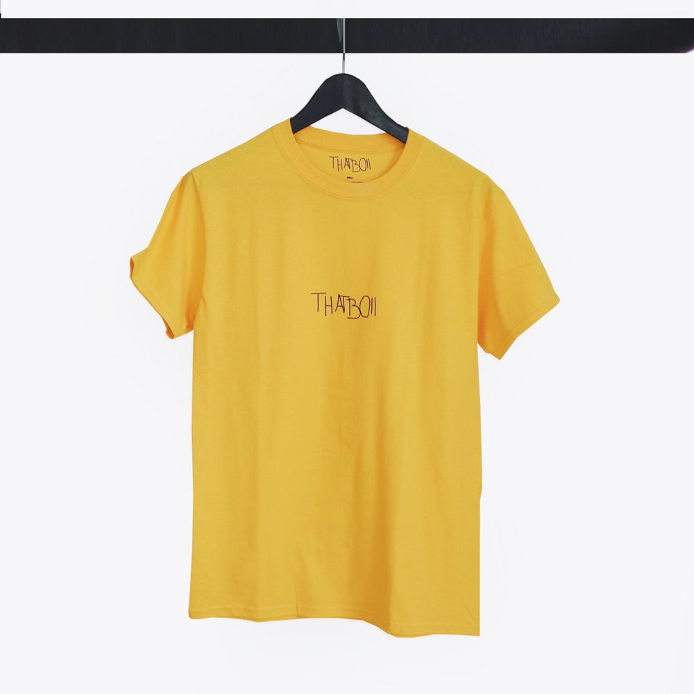 Image of THATBOII TEE - GOLD