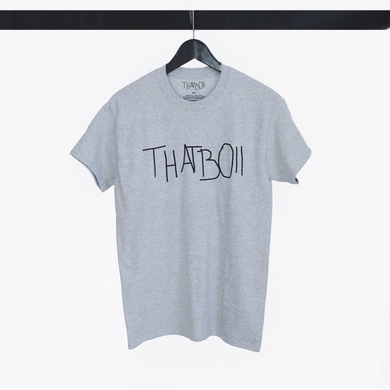 Image of THATBOII TEE - GREY
