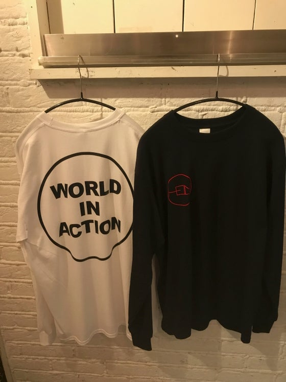 "Image of HELM ""WORLD IN ACTION"" LONG SLEEVE SHIRT"