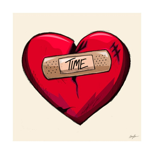 Image of Time Heals (Print)