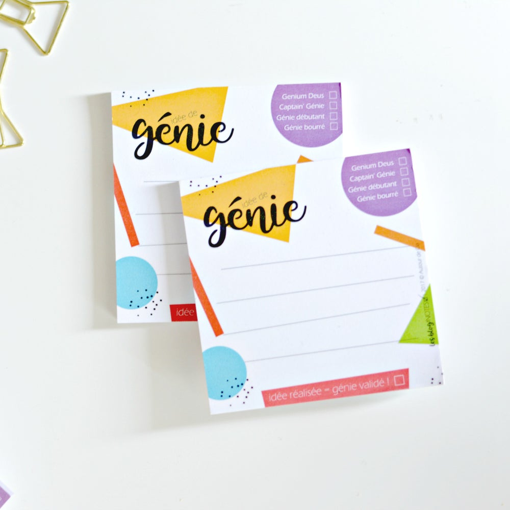 Image of Idée de Génie Post-It