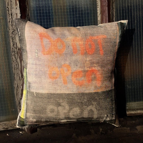 Image of Do Not Open Pillow