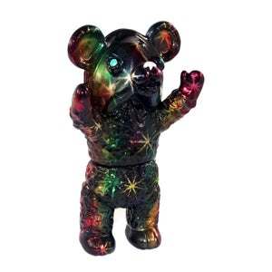 Image of Black Sparkle Fuku Bear