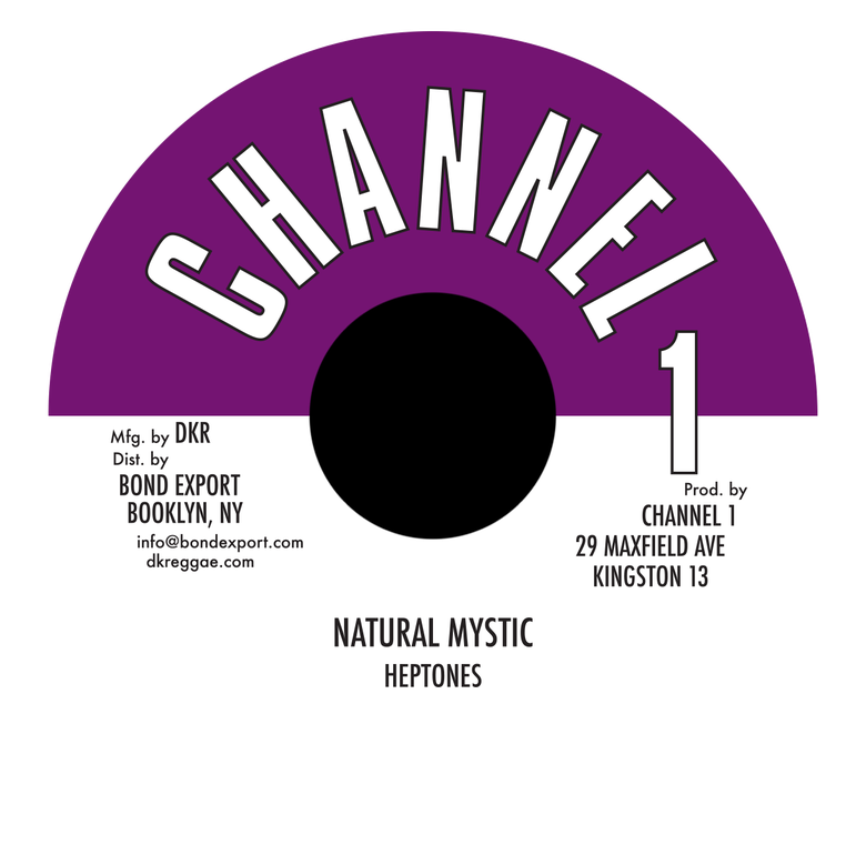 "Image of Heptones - Natural Mystic 7"" (Channel 1)"