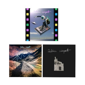 Image of Adam Carpet discography bundle (3CD)
