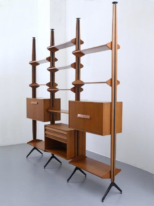 Image of Italian Shelving System, 1960s