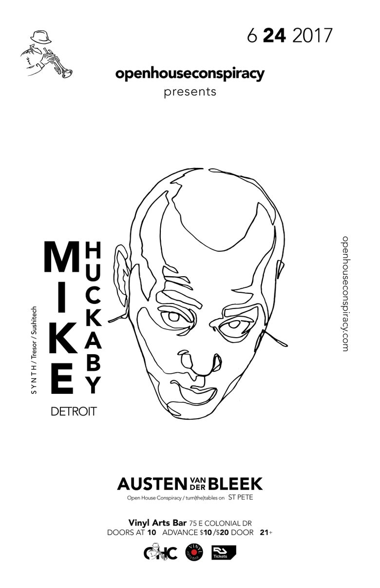 Image of Mike Huckaby Ticket — Early Bird