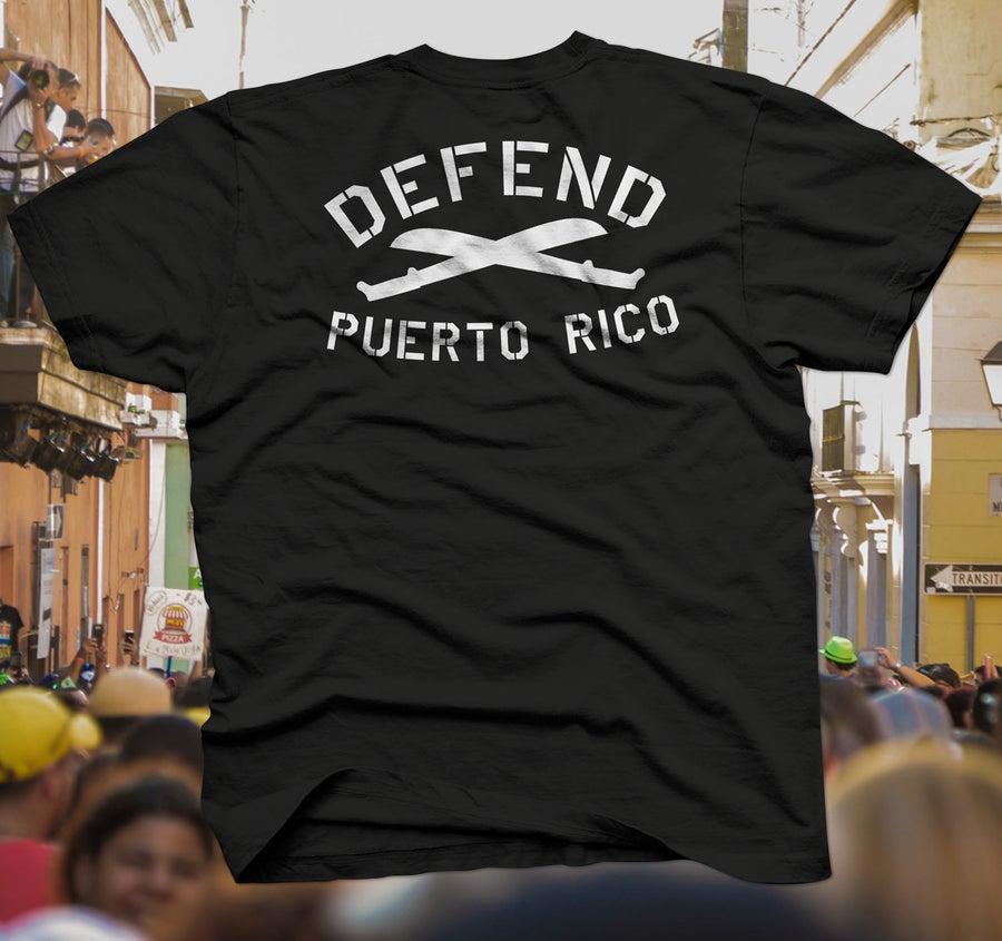 Image of DefendPR Flag Tee