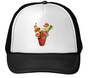 Image of Outrageous Bloody Mary Trucker Hat