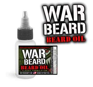 Image of War Beard Classic Beard Oil