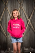 Image of Kids Pink Hooded Top