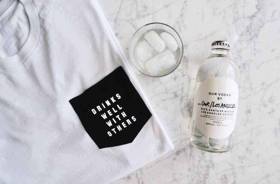 Image of Drinks Well With Others - Pocket T