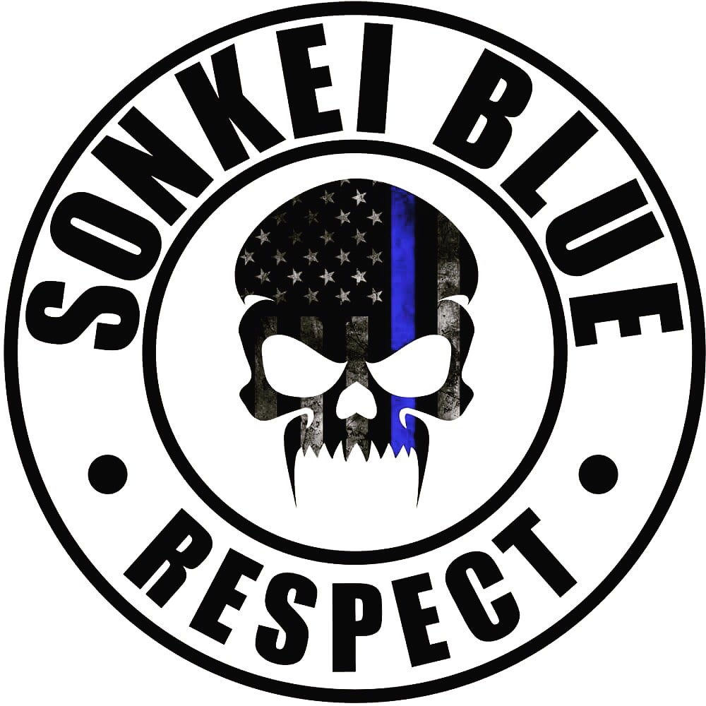 Image of Sonkei Blue Slap Sticker / Die Cut Vinyl Sticker