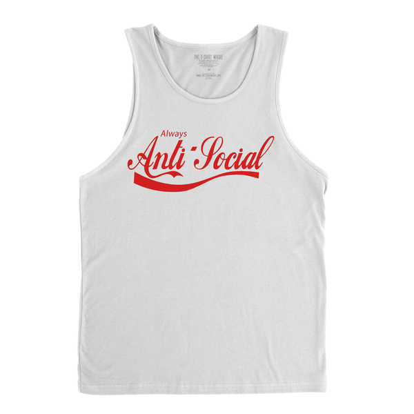 Image of Always Anti-Social - Men's Tank