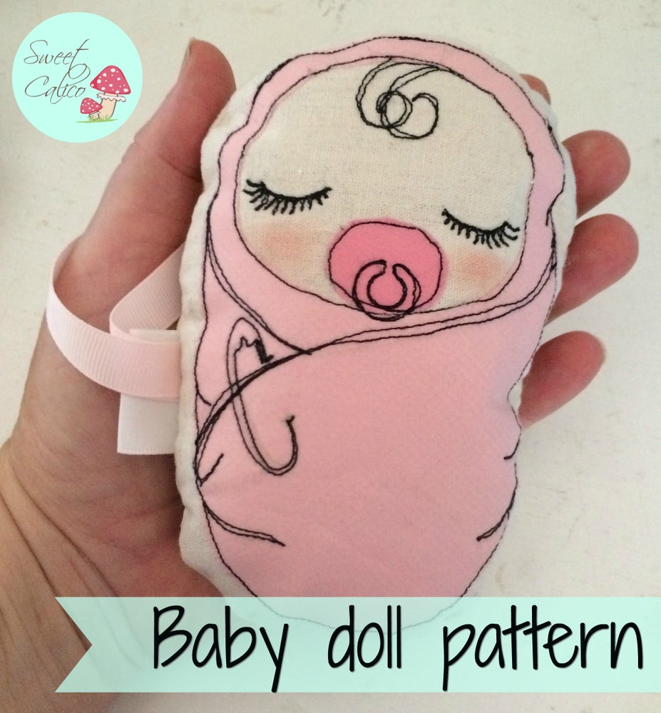 Image of Pattern for Baby doll