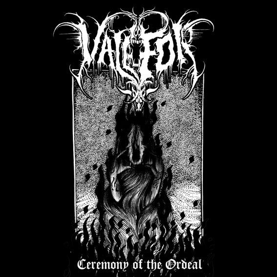 "Image of *PRE-ORDER* Valefor - ""Ceremony of the Ordeal"" CD"