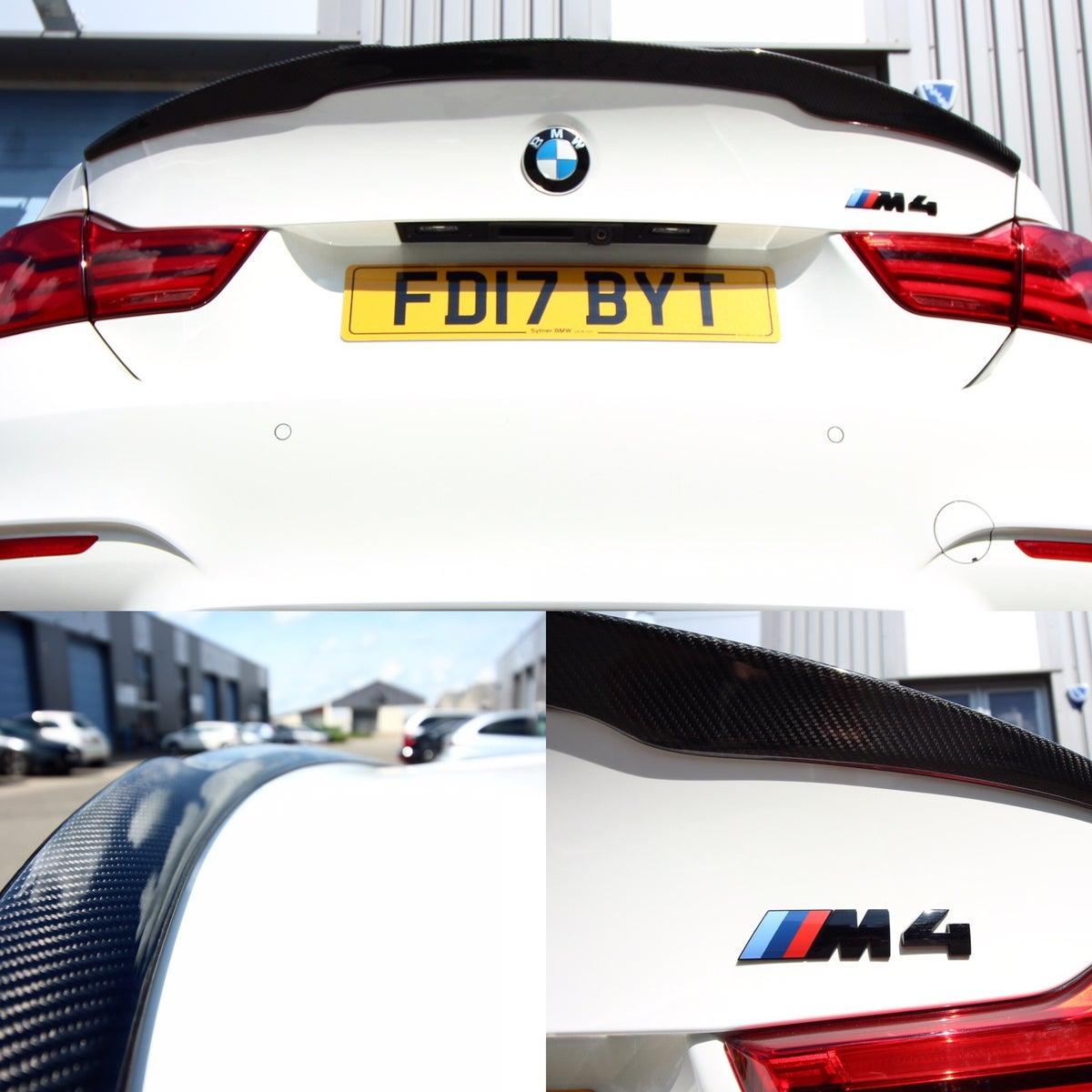 Image of Carbonspeed F82 BMW M4 Spoiler