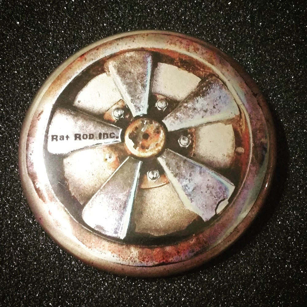 Image of Rat Rod Inc Button