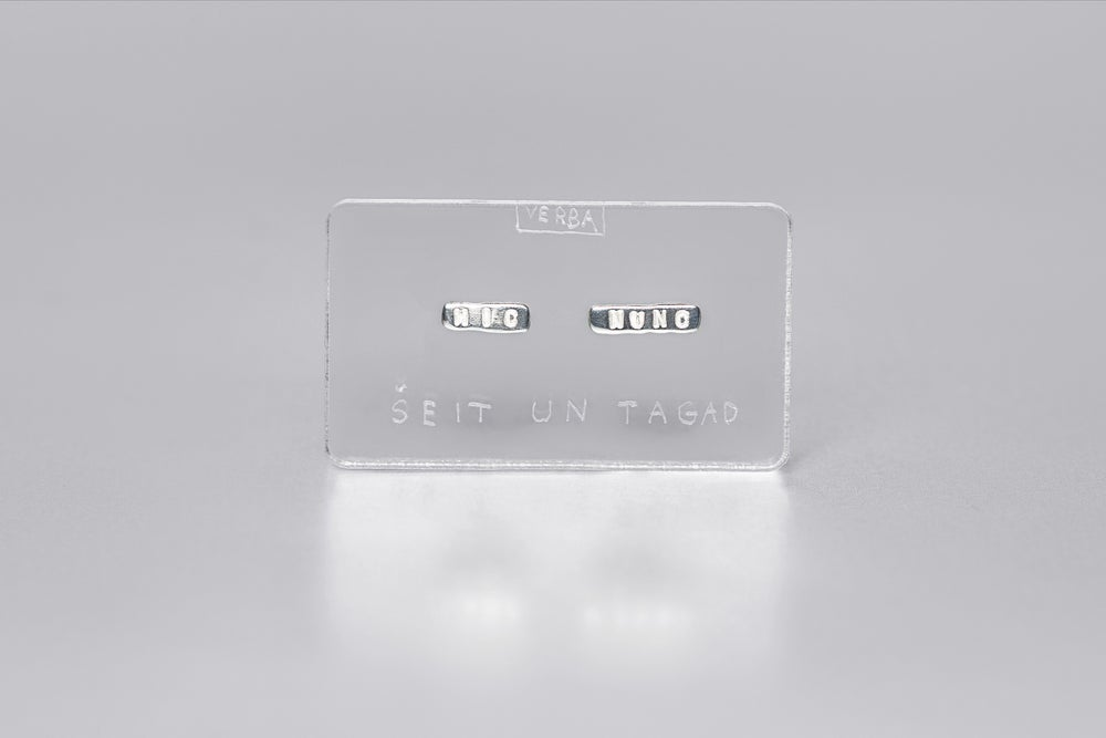 Image of MINI silver earrings