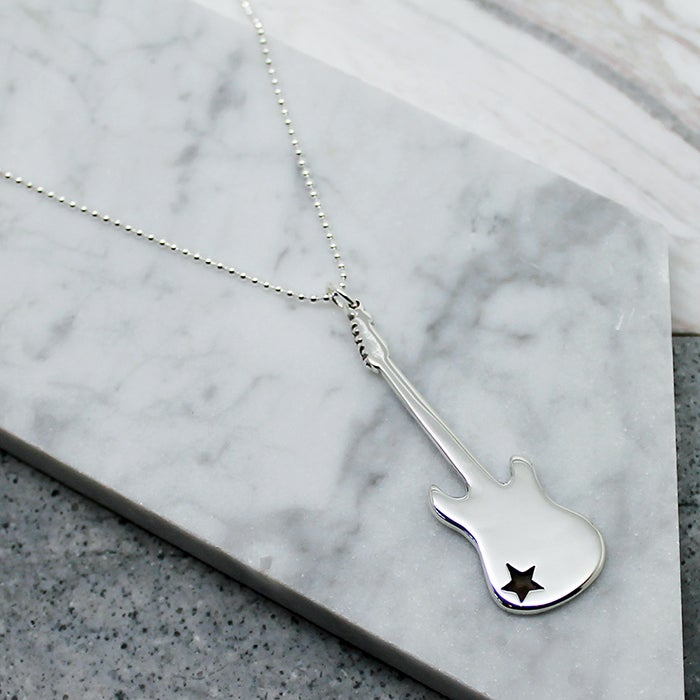 Image of Fender Electric Guitar Necklace