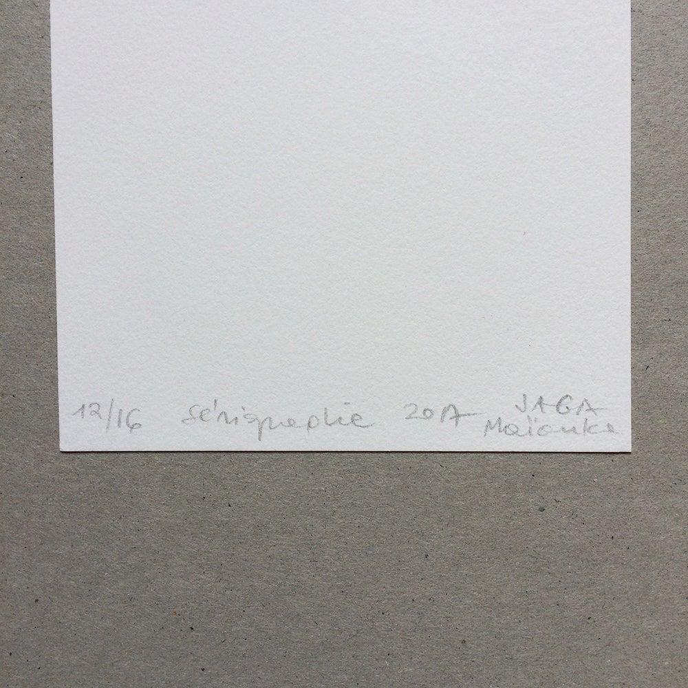 Image of carte Tropics sérigraphie édition limitée