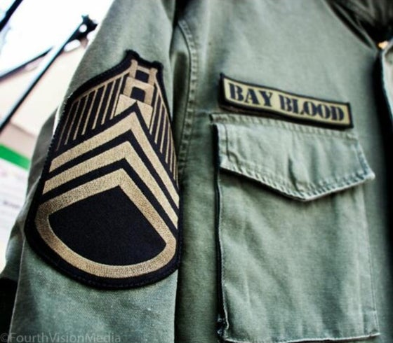 "Image of ""First Blood"" Military Jacket (vintage green)"
