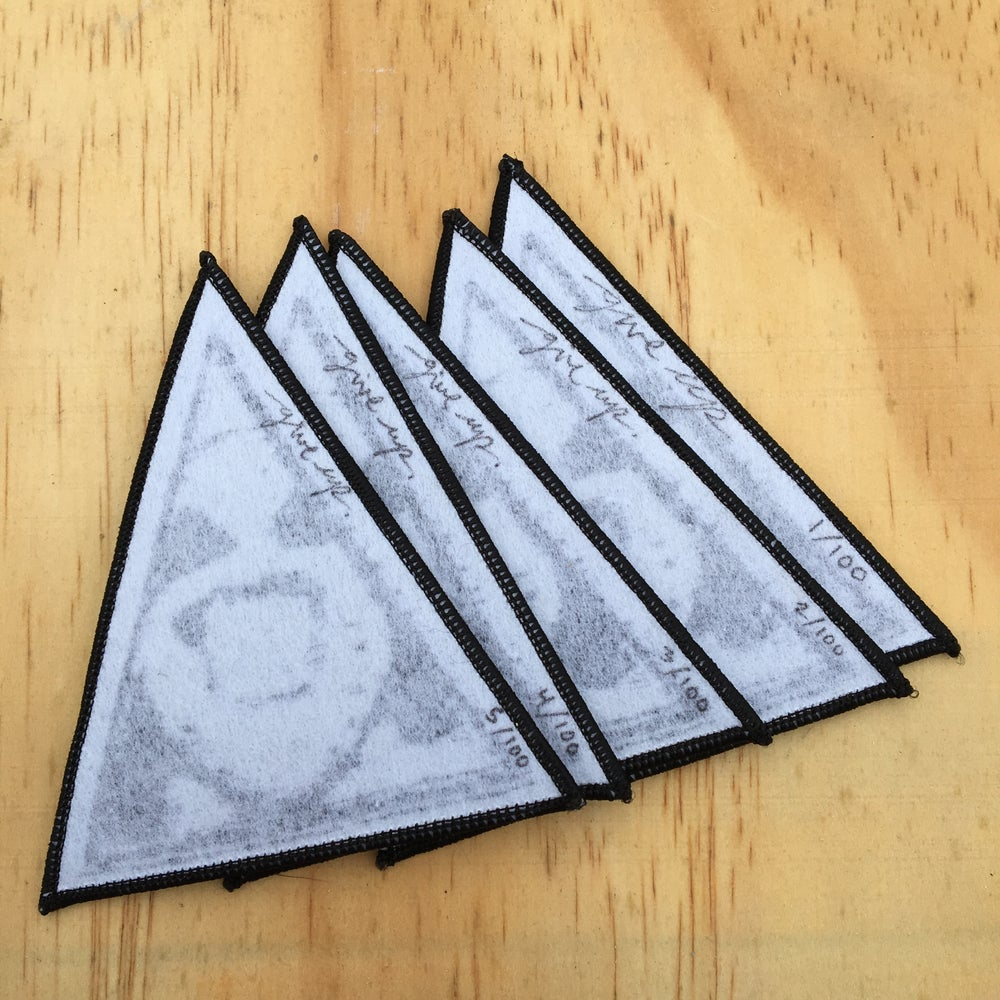 Image of woven 'triangle' patch