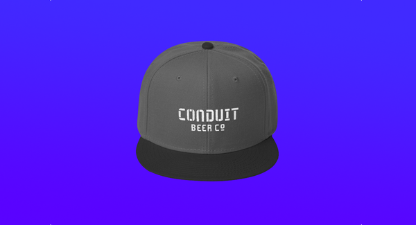 Image of Conduit Cap (Gray + Black)