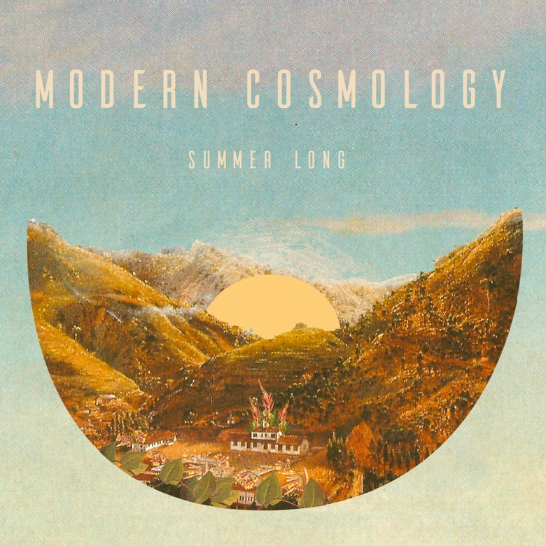 "Image of MODERN COSMOLOGY - Summer Long (Maxi-single/EP clear 12"" vinyl/MP3s)"