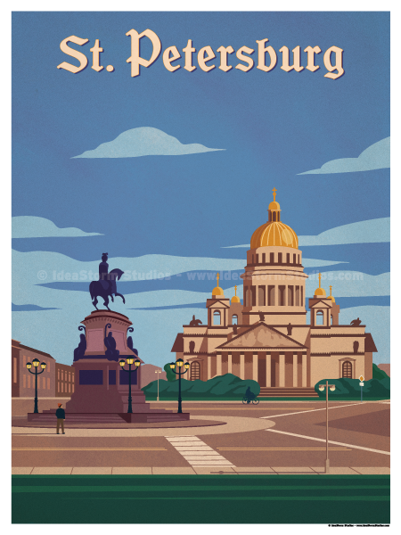 Image of St. Petersburg Poster