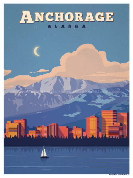 Image of Anchorage Poster