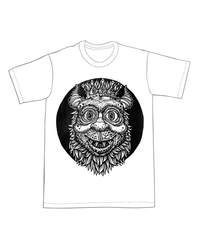 Image of King of the Monsters T-shirt **FREE SHIPPING**